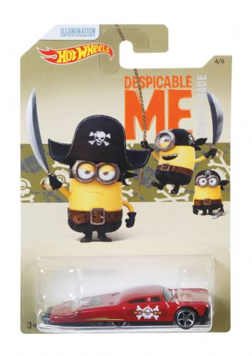 Hot Wheels Despicable Me Slikt Back